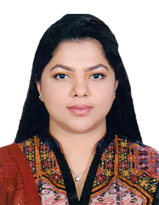 Mrs. Syeda Sharmin Hossain